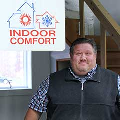 Kurt Ritchie at Indoor Comfort Heating & Cooling