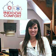 Molly Wilson at Indoor Comfort Heating & Cooling