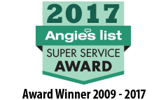 Angie's List 2016 Super Service Award Logo